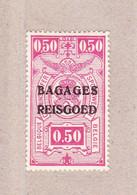 1935 BA5* Met Scharnier.Spoorwegzegel Bagages-Reisgoed.OBP 2 Euro. - Luggage