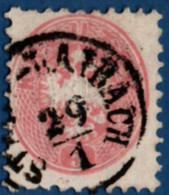 Stadt Laibach Austria 70% Cancel On 1864 5 Kr 2102.2059 Österreich, Llubljana Slovenia - Used Stamps