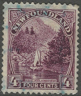 Newfoundland. 1923-24 Definitives. 4c Used SG 152 - 1908-1947