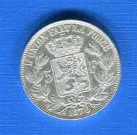 5  Fr  1870  Ttb + - 09. 5 Francs