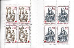 CARNET CROIX ROUGE - Vierge à L'enfant Baillon - Vierge à L'enfant Genainville - 1983  - Y&T 2032 (valeur Facial) - Red Cross