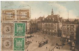 HALLE Rathaus Und Ratskeller - Halle (Saale)