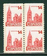 Parlement Canadien Parliament; Timbre Scott # 730 Stamp; NON Coupé RARE Uncut (4202) - Neufs