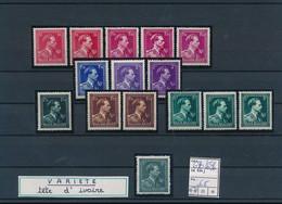 BELGIUM COB 690/696 MNH POSTFRIS SANS CHARNIERES - 1936-1957 Col Ouvert