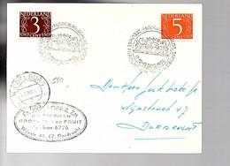 Lobé Aardappelen Groenten En Fruit Telefoon 6726 Wijnstraat Dordrecht Middelburg Tentoonstelling 1958 (FA-42) - Covers & Documents