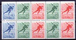 ZWEDEN 1966 HBL W.K Schaatsen PF-MNH - Ungebraucht
