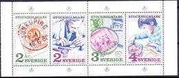 ZWEDEN 1986 HBL Stockholmia 86-IV PF-MNH - Unused Stamps