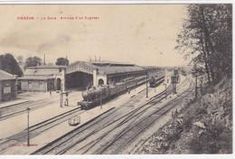 Cher - Vierzon - La Gare - Arrivée D'un Express - Vierzon