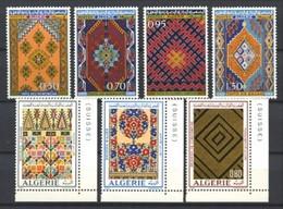 ALGERIE - 463 / 466 + 563 / 565 - Tapisseries - 7 Valeurs - Neufs N** - TB - Algeria (1962-...)
