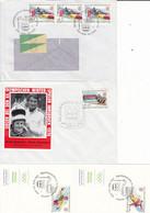 1976 - AUSTRIA - AUTRICHE - OLYMPIC GAMES INNSBRUCK - 4 CARDS / LETTERS - 1971-80 Cartas