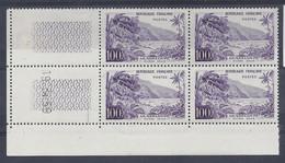 GUADELOUPE N° 1194 - BLOC De 4 COIN DATE - NEUF SANS CHARNIERE - 19/3/59 - 1950-1959