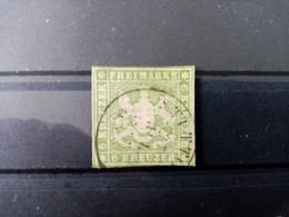 WURTEMBERG. 1857 . N° 8 Oblitéré . Côte YT 2020 : 85,00 € . - Wurtemberg