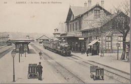 LISIEUX -  LA GARE - Lisieux