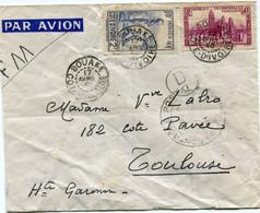 COTE D'IVOIRE LETTRE PAR AVION CENSUREE DEPART BOUAKE 17 AVRIL 40 COTE D'IVOIRE POUR LA FRANCE - Briefe U. Dokumente