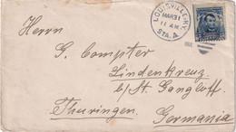 USA 1906 LETTRE DE LOUISVILLE - Cartas