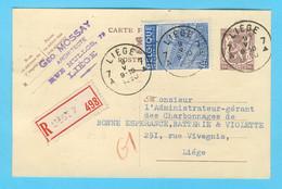 Belgique N°  771Recommandé Liège 9-V-1950 - Sin Clasificación