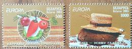 Biélorussie - YT N°528, 529 - EUROPA / La Gastronomie - 2005 - Neufs - Bielorrusia