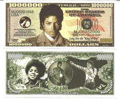 !!! USA - FANTASY NOTE - MICHAEL  JACKSON  - UNC - Other