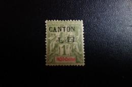 CANTON N°15*   C.50 Eu - Oblitérés