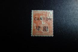 CANTON N°48*   C.90 Eu - Oblitérés