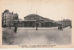 NANTES. -  Le Nouveau Marché Talensac, Pris Du Sud. CPA RARE - Nantes