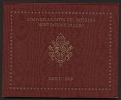 VATICAN 2008 COFFRET DE 8 PIECES DE 1ct à 2€. PONTIFICAT DE BENOIT XVI / PONTIFICATO DI BENEDETTO XVI - Vatican