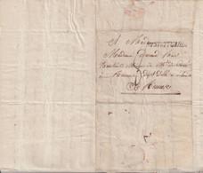 """FRANCE : MP . """" R2 STUTTGARDT """" . ARMEE DU RHIN . TEXTE SUR LES COMBATS CONTRE LES AUTRICHIENS . 1796 . - Army Postmarks (before 1900)"""