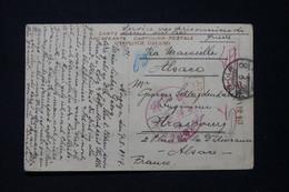 """JAPON - Carte Postale De Tokyo Pour Strasbourg En 1919 Avec Mention """" Service Des Prisonniers De Guerre """" 1919 - L 89369 - Briefe U. Dokumente"""