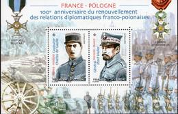 """Le Feuillet F5311 """"RELATION FRANCE POLOGNE"""" Luxe Bas Prix, A SAISIR. - Feuilles Complètes"""