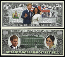 !!! USA - FANTASY NOTE - THE ROYAL WEDDING HARRY & MEGHAN  - UNC - Other