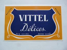 VIEUX PAPIERS - BUVARD : VITTEL - Alimentare
