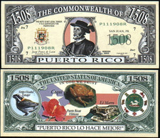 !!! USA - FANTASY NOTE - PUERTO  RICO  - UNC - Other