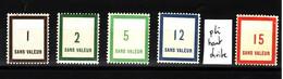 Lot FICTIFS 1950 N**  F960 - Finti