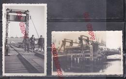 WW2 Archive Militaire Génie Période Drôle De Guerre Mars 1940 Pont Beau Format 7 Par 11 Cm - 1939-45