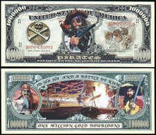 !!! USA - FANTASY NOTE -  PIRATES  - UNC - Other