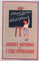 Vignette Journée Nationale De L' Ecole Républicaine - Ecole De La République, De La Fraternité - Autres
