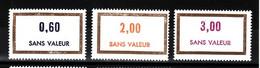 Lot FICTIFS 1974 N**  F968 - Fictifs