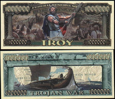!!! USA - FANTASY NOTE -  THE  TROJAN  WAR  - UNC - Other