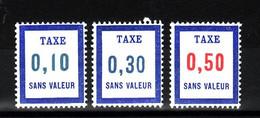 Lot FICTIFS Taxe 1968 N**  F978 - Finti