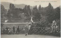 NAMUR : Un Coin Du Parc Marie-Louise - TRES RARE VARIANTE - Cachet De La Poste 1905 - Namur