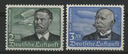 ALLEMAGNE POSTE AERIENNE 1934 N°52 Et 53 Cote 75 € Neufs * (MH) Voir Description TB Vendu à 15 % De La Cote - Airmail