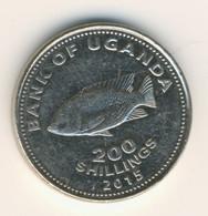 UGANDA 2015: 200 Shillings, KM 68a - Uganda