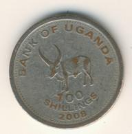UGANDA 2008: 100 Shillings, Magnetic, KM 67a - Uganda