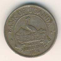 UGANDA 1976: 1 Shilling, KM 5a - Uganda