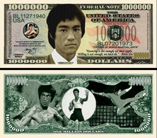 !!! USA - FANTASY NOTE -  BRUCE  LEE  - UNC - Other