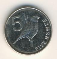 ZAMBIA 2012: 5 Ngwee, KM 205 - Zambia