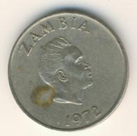 ZAMBIA 1972: 10 Ngwee, KM 12 - Zambia