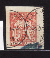 Telegraphe N 19F Obli   AF430 - Telegrafi E Telefoni