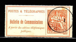 Telegraphe N 27 Obli   AF434 - Telegrafi E Telefoni