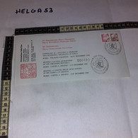 FB4551 REPUBBLICA ITALIANA STORIA POSTALE ROMA 1982 LA CINA ATTRAVERSO I SUOI FRANCOBOLLI 33'' FOND. REP.POP. CINA CHINA - 1971-80: Storia Postale